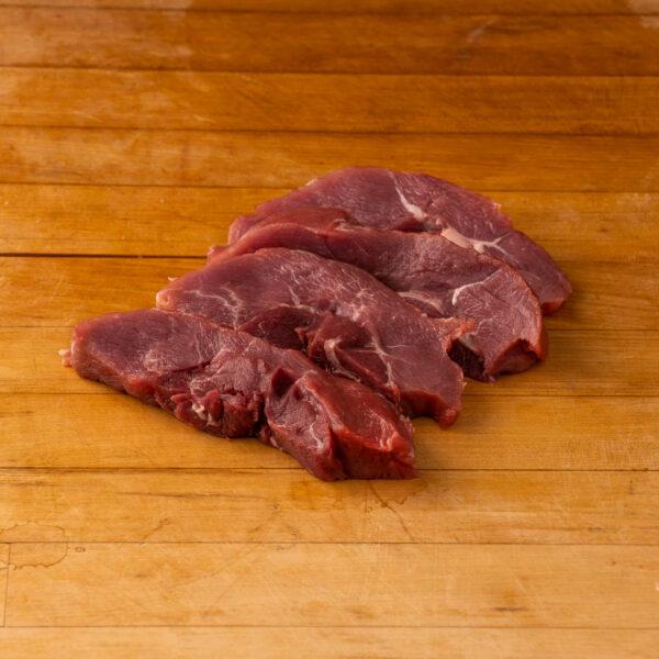 Steaks de surlong sanglier